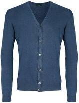 Zanone V-neck cardigan - men - Cotton - 48