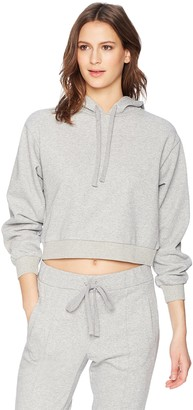 The Fifth Label Women's Madagascar Cropped Soft Terry Drawstring Hoodie
