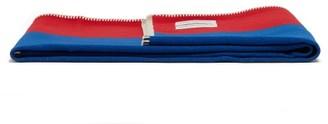 Calvin Klein X Pendleton Peter Wool-blend Saddle Blanket - Blue Red