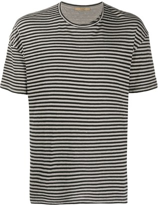 Roberto Collina striped loose fit T-shirt