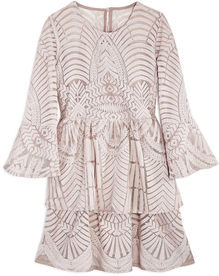 Bardot Junior Girls' Embroidered Lace Dress
