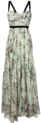 Maria Lucia Hohan Malvina floral print gown