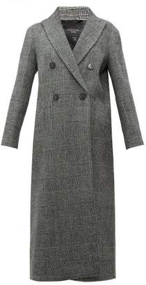 Max Mara Porfido Coat - Womens - Black White