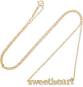 Jennifer Meyer Sweetheart 18-karat Gold Necklace - one size