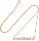 Jennifer Meyer Sweetheart 18-karat Gold Necklace