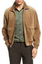 Vince Men's Suede Flight Jacket