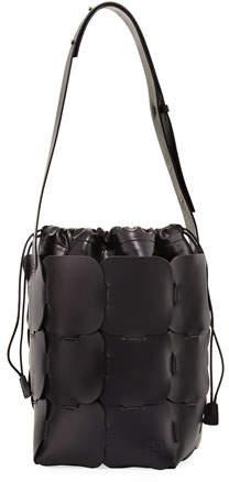 Paco Rabanne 1601 Medium Vegetable-Dyed Leather Hobo Bag