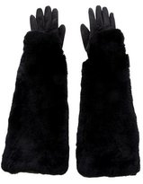 Undercover Fur & Shearling Gloves