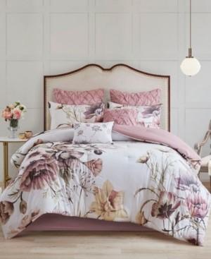Madison Home USA Cassandra King 8-Pc. Cotton Printed Comforter Set Bedding