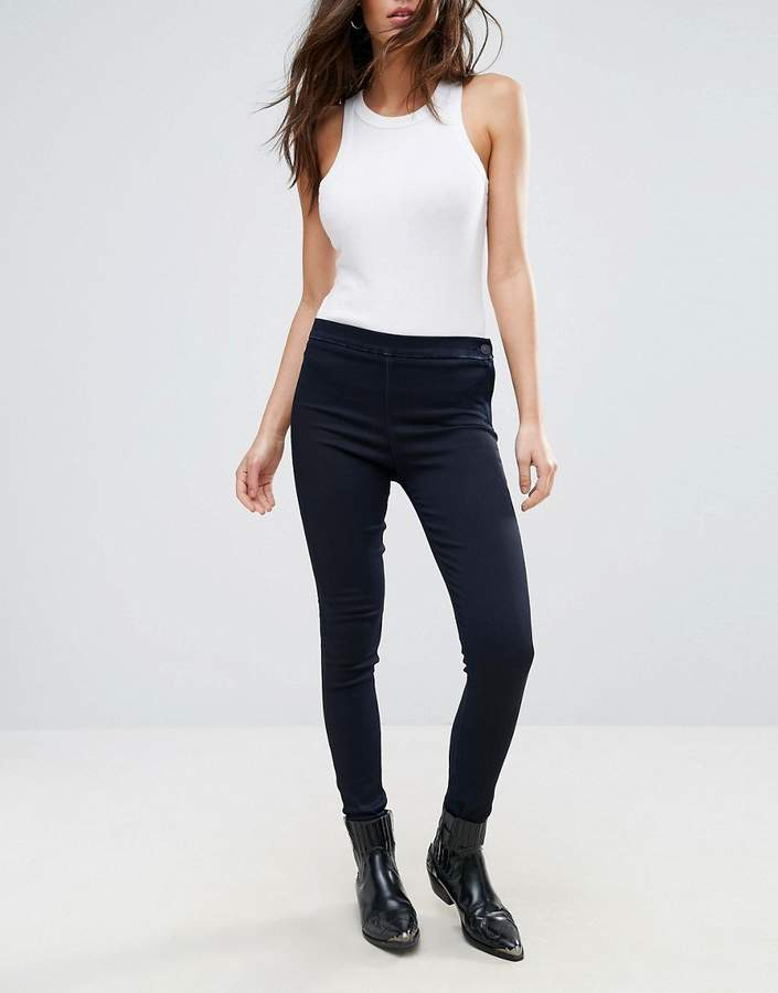 7 For All Mankind The Weekend Skinny Jeans