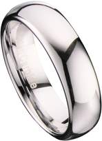 Metals Jewelry 6mm Mirror Polished Comfort Fit Ring Tungsten Carbide Wedding Band Size 13