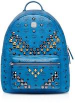 MCM Medium Studded Backpack