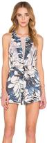 Style Stalker STYLESTALKER Hawaiian Sunset Romper