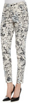 CJ by Cookie Johnson Tropical-Print Wisdom Ankle Jeans