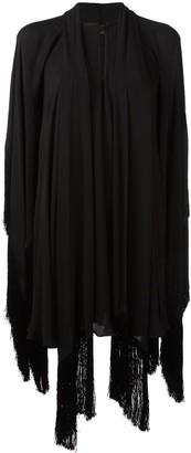 Plein Sud Jeans Draped Silk Asymmetric Dress