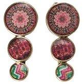 Desigual 61G55C37032U Metal Drop Earrings