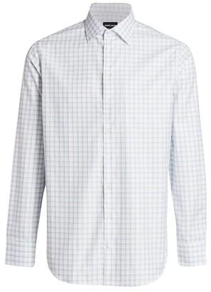 Giorgio Armani Check Dress Shirt