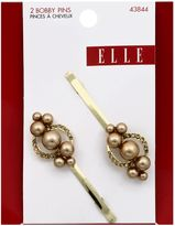 Elle 2-Pack Gold, Champagne & Pearl Bobby Pin