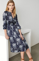 BCBGMAXAZRIA Woven Blouson Dress