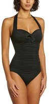 Seafolly Women's Goddess Soft-Cup Halter-Neck One-Piece Swimsuit