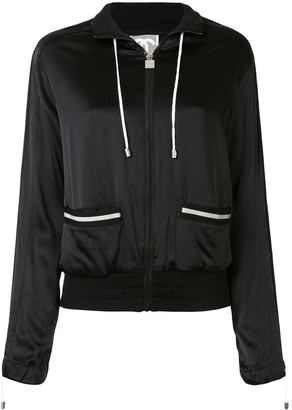 Chanel Pre Owned 2006 Sports line stand-up collar jacket