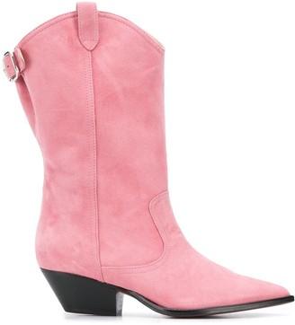 J&M Davidson Knee-High 50mm Cowboy Boots