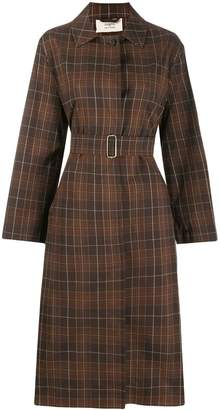 Ports 1961 checked trench coat