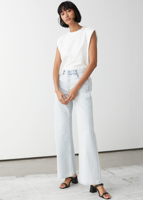 And other stories Relaxed Wide Bootcut Jeans