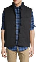 Brooks Brothers Herringbone Stand Collar Vest