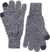 Firetrap Mens Twist Yam Touch Screen Gloves Navy