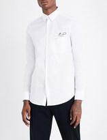 Fendi Pocket-detailed regular-fit stretch-cotton shirt