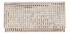 Nina Chicago Crystal Striped Convertible Clutch