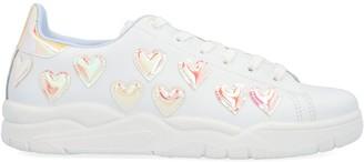 Chiara Ferragni Reflective Heart Sneakers