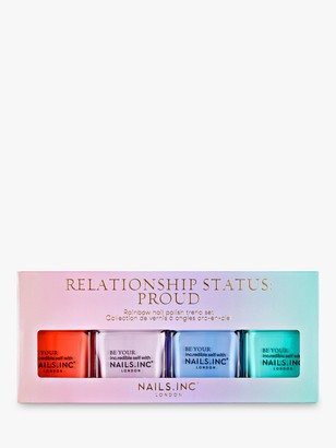 Nails Inc Relationship Status: Proud Collection, 4 x 14ml