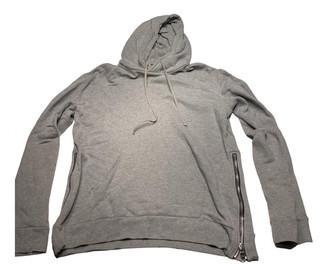 Balmain Grey Cotton Knitwear & Sweatshirts