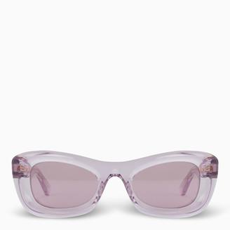 Bottega Veneta Red cat-eye sunglasses