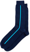 Paul Smith Men's Vertical Side-Stripe Socks