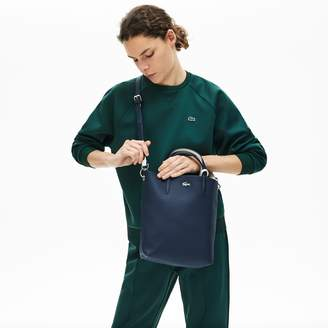 Lacoste Womens Anna Reversible Coated Canvas Tote Bag