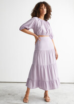 Thumbnail for your product : And other stories Tiered Midi Skirt