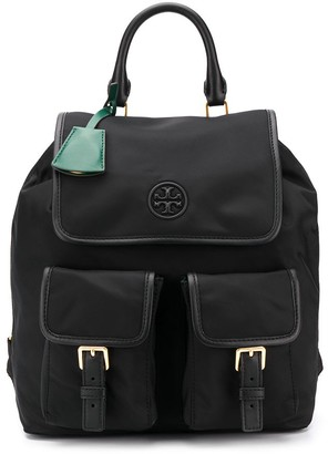 Tory Burch Buckle Pocket Backpack