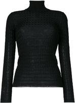 M Missoni turtleneck slim-fit jumper