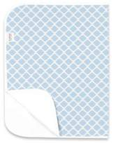Kushies Deluxe Flannel Lattice Changing Pad in Blue