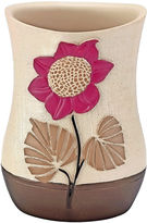 Asstd National Brand Popular Bath Lillian Floral Beige Tumbler