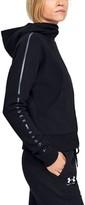 Under Armour Women's UA Microthread Fleece Graphic Full Zip Hoodie