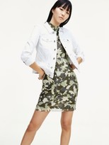 Tommy Hilfiger Camouflage Mesh Dress