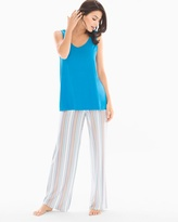 Soma Intimates Cool Nights Tank/Pants Pajama Set