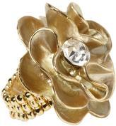 Hive & Honey Flower Ring