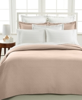 Charter Club CLOSEOUT! Damask Quilted Twin 2-Pc. Coverlet Set. Only at Macy's