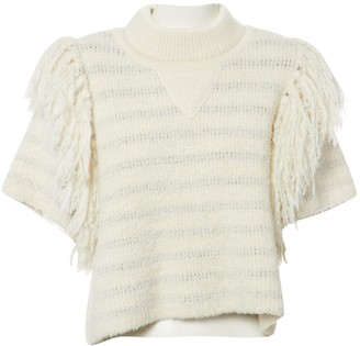 Sonia Rykiel Ecru Cotton Knitwear for Women
