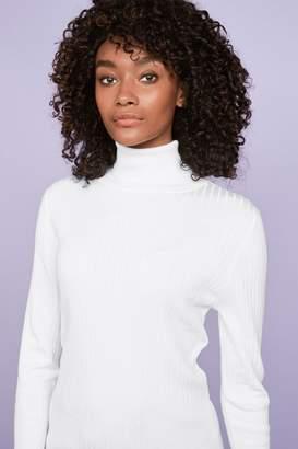 Next Womens White Roll Neck Jumper - White